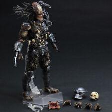 Play Arts Kai AVP Alien vs Predator 2 Movie Film Ver PVC Figure Statue 3D Model