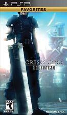 Crisis Core: final Fantasy VII-Platinum Edition PSP UMD PlayStation Video Juego