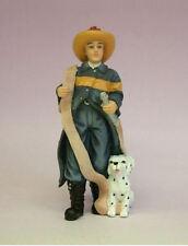 DOLLSHOUSE NEW RESIN FIGURES-ROY THE FIREMAN & DOG