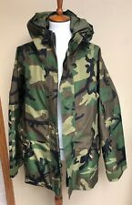 US Army Cold Weather Parka Camouflage Jacket Coat LN Excellent X Large Short