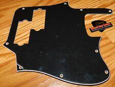 Fender Troy Sanders Jaguar Bass Pickguard 3 Ply Black Electric Guitar Parts