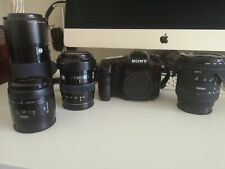 Amazing Sony A77 Kit with 4 Sharp Lenses