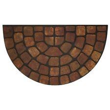 Achim Raised Rubber Mat Beige Stone Slice - 18x30- RRM1830BS6 Door Mat NEW