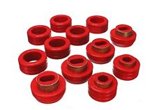 Energy Suspension Body Cab Mount Set Red for 91-03 GMC Sonoma # 3.4130R
