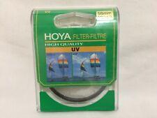 Hoya High Quality 58mm UV Filter New Sealed Box FS
