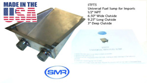 """Mini Fuel Tank Sump Gas tank Sump For Small Fuel Tanks Imports 1/2"""" USA MADE"""