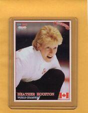 1993 Ice Hot International Curling Card #45 Heather Houston Canada