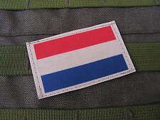 Patch velcro - DRAPEAU HOLLANDE - Nederland Overijssel TAN COYOTE desert