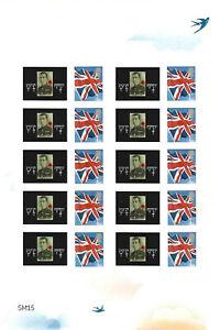 WW1 - Customised Smilers Half Sheet (Mint)