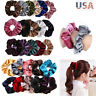 Women Hair Scrunchies Velvet Elastic Hair Bands Scrunchy Hair Ties Ropes Scrun