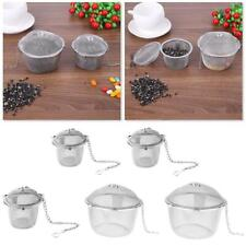 Stainless Steel Mesh Tea Filter Infuser Strainer Locking Spice Ball Cooking Tool