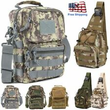 Big Outdoor Military Molle Tactical Backpack Rucksack Camping Bag Travel Hiking