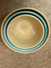 vintage ceramic mixing bowl set