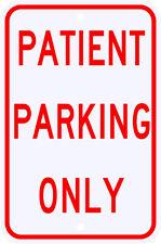 3M Reflective Patient Parking Only Street Sign Dot Municipal Grade 12 x 18