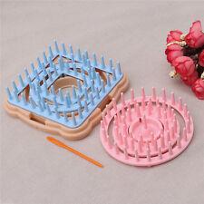 Flower Shape Knitting Loom Knitter Weaver Kit with Needle 9Pcs / Set