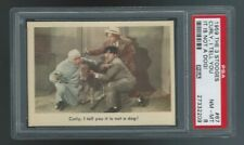 1959 Fleer The 3 (Three) Stooges #67 Curly, I Tell You It's Not A Dog PSA 8