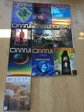 Omni magazine 1980 Lot Of 10