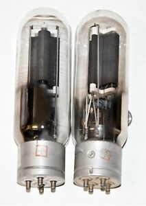 GENERAL ELECTRIC VT-4C 211 TUBE TESTED #C
