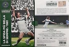 La Sfida più Bella Di Sempre /1981 n 3 I Signori Di Wimbledon Dvd Sigillato