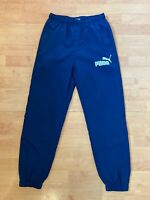 Puma Youth XL Uk 30 Navy Blue Tracksuit Bottom Trousers