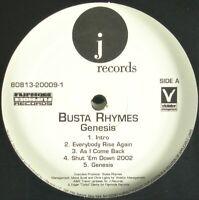 """BUSTA RHYMES """"GENESIS"""" 2001 2X VINYL LP PROMO (CLEAN) P. DIDDY, KELIS *SEALED*"""