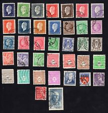 France 1942-45 group of 37 stamps Y&T# Used  CV=6,35€
