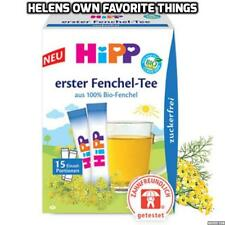 Hipp Baby Fennel Tea, made from 100% Fennel, digestive tea to soothe colic!