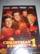 CHRISTMAS DVD -  CHRISTMAS  STORIES VOL. 1-CHARLES RUGGLES -ROBERT CUMMINGS-NEW