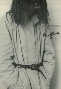 70s vintage MARGARET HOWELLl advert MISS Carole MOSS fashion photography