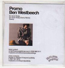 (EV518) Ben Westbeech, So Good Today - 2006 DJ CD