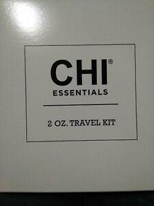 AVON CHI Essentials Hair Travel kit shampoo, cond.,spray, serum each 2 fl.oz P1