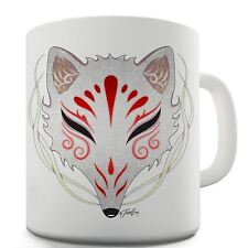 Twisted Envy Kitsune Tribal Mask Ceramic Novelty Mug