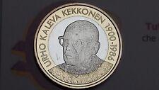 5 euro 2017 FINLANDIA Suomi Finland Finnland FINLANDE Urho K KEKKONEN Финляндия