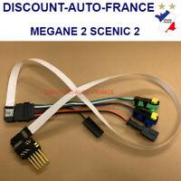 Câble 7 pins + connecteurs, contacteur tournant airbag Renault SCENIC 2 MEGANE 2