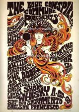 1969c THE DOORS 568 SACRAMENTO SAN FRANCISCO A3 CONCERT BILL POSTER PRINT