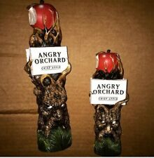 """New listing Angry Orchard Hard Cider 11"""" Beer Tap Handle, excellent condition"""