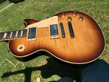 2007 Gibson Les Paul Standard Plus Tobacco Flametop  7.9 lbs 1960s Slim Neck