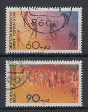 Berlin Germany 1981 θ mi.645/46 sport marathon gymnastique gymnastics