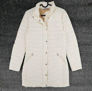 GANT White Puffer Down Fill Coat Size XS
