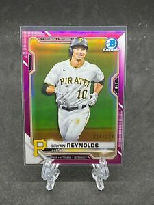 2021 Bowman Chrome Pink Refractor Bryan Reynolds 14/299