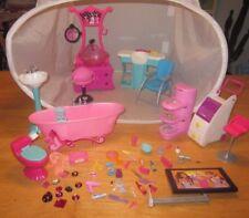 Barbie Beauty Salon Hair Stylist Spa Bath Tub Hair Washing Station Sink MATTEL