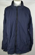 Nautica Competition Hooded Sailing Jacket Men's Size XL Full Zip Navy Blue