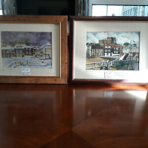 Watercolours, Paintings, Artwork of Broadstairs x 19 Pieces All Framed