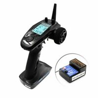 Flysky FS-GT5 6CH AFHDS RC Transmitter with FS-BS6 Receiver for RC Car Boat