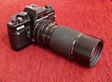 PRAKTICA BMS electronic camera with SIGMA 100-200mm Zoom Lens
