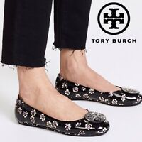 Tory Burch Women's Size 5 M Minnie Patent Leather Travel Ballet Flats New $225