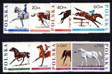 Poland - 1967 Horses - Mi. 1740-47 MNH