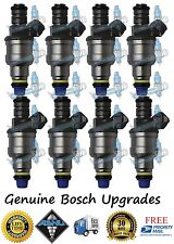 Reman Genuine Bosch 4 Hole Upgrade Cadillac 8x Fuel Injectors 4.5L 4.9L
