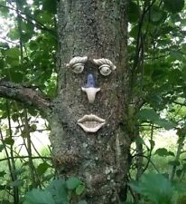 Hanging Face Decoration Garden Ornament Tree Shed Funny Novelty Christmas Gift