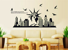 Noctilucence liberty city Home Decor Removable Wall Sticker/Decal/Decorations